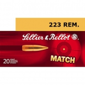 Sellier & Bellot .223 Remington, Sierra Match 4,5g (20 vnt.)