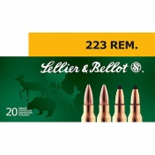 Sellier & Bellot .223 Remington, Ekspansyvi kulka 3,56g (20 vnt.)