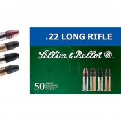 Sellier & Bellot, kal. .22 LR, Club (50 vnt.)