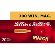 Sellier & Bellot .300 Win. Mag., Sierra Match 10,89g (20 vnt.)