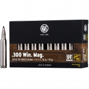 .300 Win. Mag. Speed Tip 165 grs.