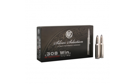 RWS Silver Selection Uni Professional, .308 Win. 11,7g (20 vnt.)