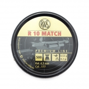RWS R10 Match kal.4.5mm  0.53g (500 vnt.)