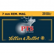Sellier & Bellot 7mm Rem.Mag. PTS TLM 10,5g (20 vnt.)