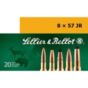 Sellier & Bellot 8x57 IS, Torpedo-S 12,7g (20 vnt.)