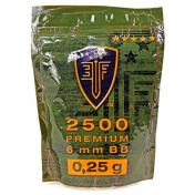 BB šratai Elite force premium 2500vnt 0.25g 2.6105