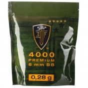 BB šratai Elite force premium 4000vnt 0.28g 2.6122