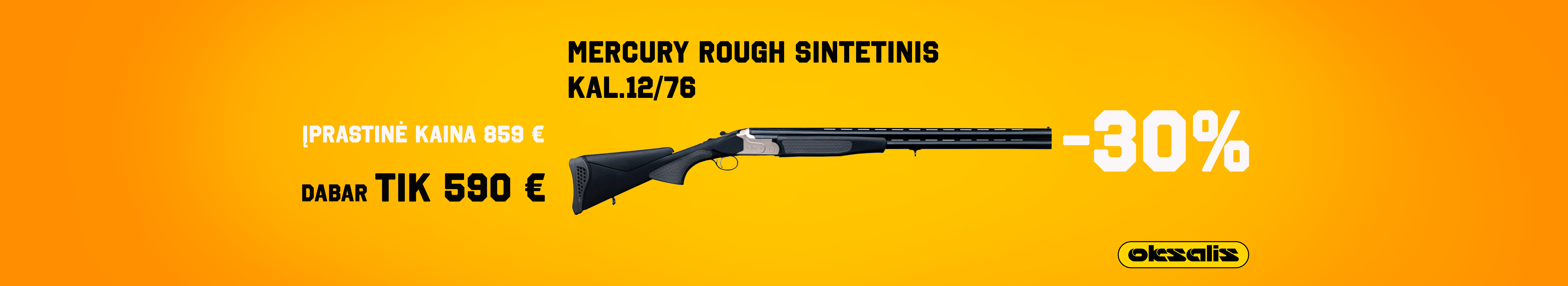 Mercury Rough sintetinis